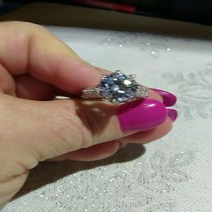 #00066 Genuine Sterling Silver Crown Ring